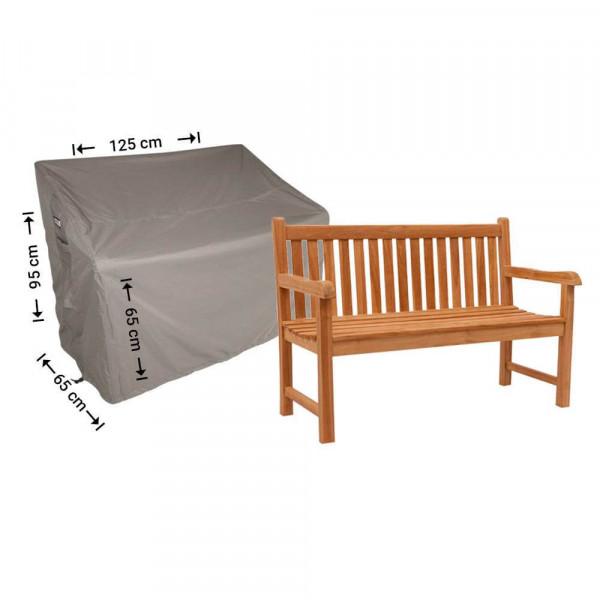 Garden bench cover 125 x 65 H:95/65cm
