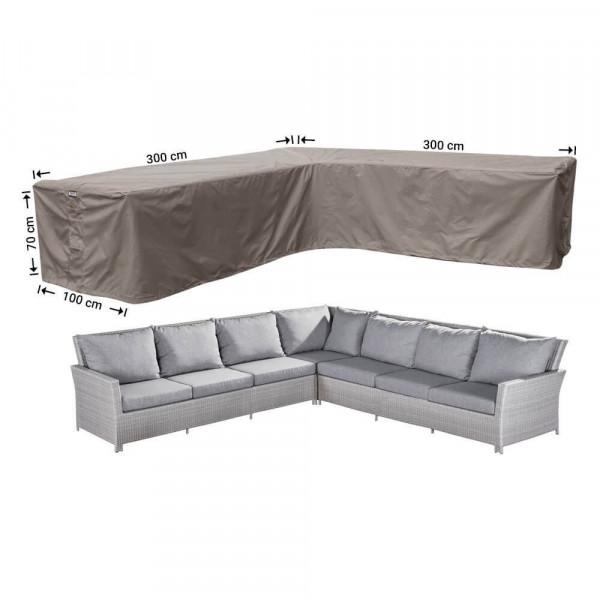 Outdoor corner sofa cover 300 x 300 x 100, H: 70 cm