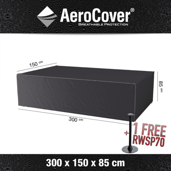 Protection set for garden cover 300 x 150 H: 85 cm