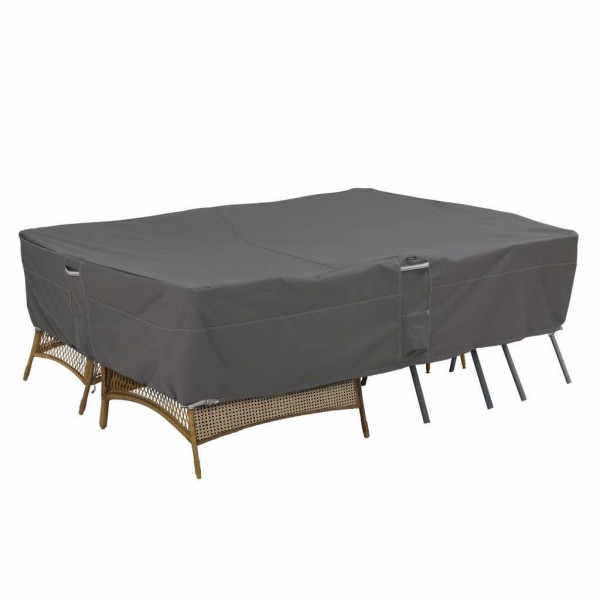 Square outdoor furniture cover 254 x 178 H: 89 cm