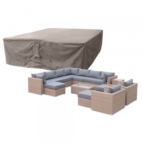 Large cover for outdoor rattan set 300 x 300 H: 70 cm