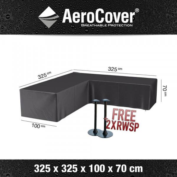 Corner sofa cover 325 x 325 H: 70 cm