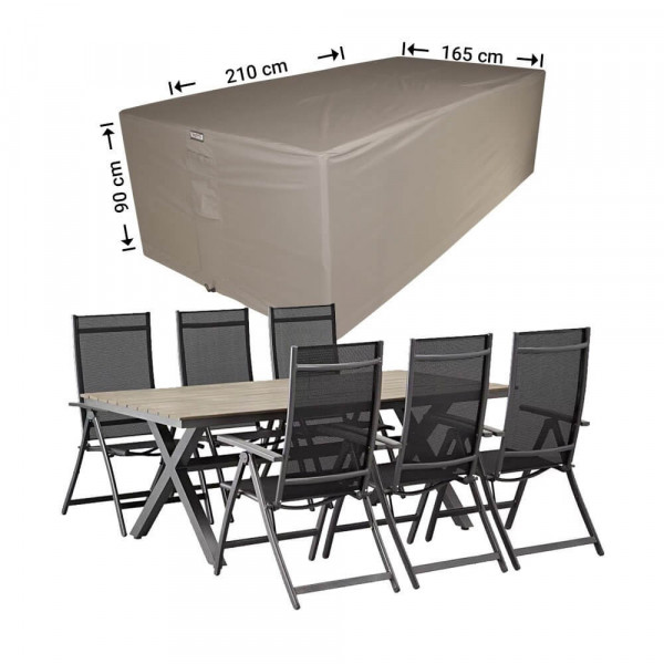 Cover for garden furniture set 210 x 165 H: 90 cm