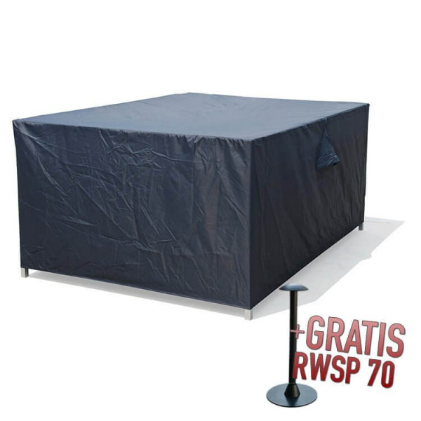 Cover for complete loungeset 255 x 255 H: 72 cm