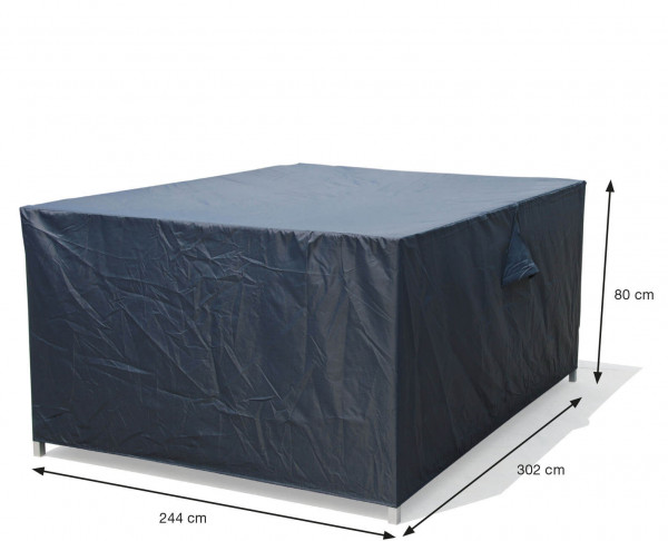 Protection cover for loungeset 302 x 244 H: 80 cm