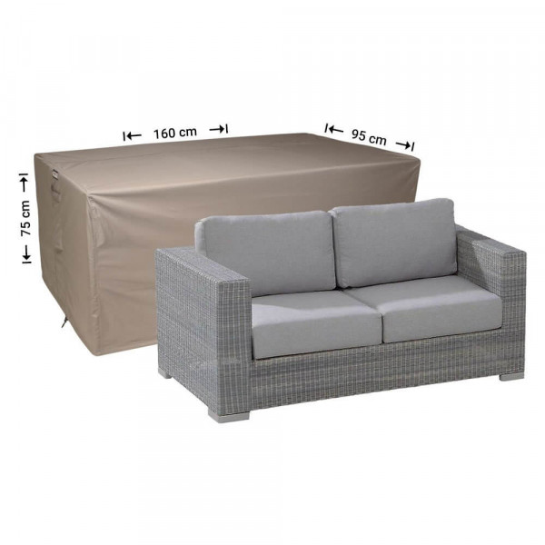 Cover for lounge sofa 160 x 95, H: 75 cm